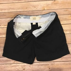 J. Crew Classic Twill Chino Shorts, Size 0